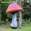 Neue trend outdoor riesigen aufblasbaren bunte beleuchtung pilz modell dekoration für veranstaltungen oder party