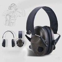 TAC 6S Faltbare Design Anti-Lärm Schießen Ohrenschützer Cancelling Tactical Headset Weich Gepolsterte Elektronische für Sport Jagd