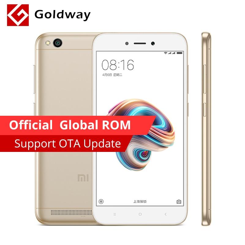 "Original Xiaomi Redmi 5a 5 A Mobile Phone 3gb Ram 32gb Rom  Snapdragon 425 Quad Core 3000mah Battery 5.0"" 4g Lte 13.0mp Camera"