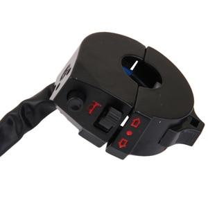 "Image 5 - 1 Pcs Aluminum Waterproof Motorcycle Handlebar Control Switch For Emergency Light Turn Signal Light Switch Fit 7/8"" Handlebars"