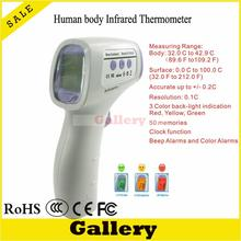 Best Buy Weather Station Indoor Infrared Thermometer Digital Termometro Infravermelho Body Human Htd8808 Lcd Display Weather Station Abs