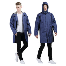 Universal Raincoat for Women Men EVA Long Raincoat Adult Casual Waterproof Hooded Rain Coat Camping Waterproof Rainwear Big Size
