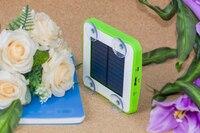100% nuevo palillo en la ventana carga por Sol 5200 mAh Cargador solar para iphone/Samsung/blackberry/Nokia
