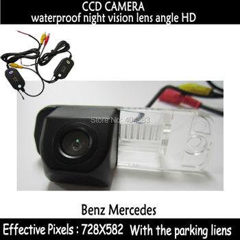wirelss CCD rear view camera transmitter parking camera for Benz C-Class W203 E-Class W211 CLS-Class 300 W219 R350 R500 ML350