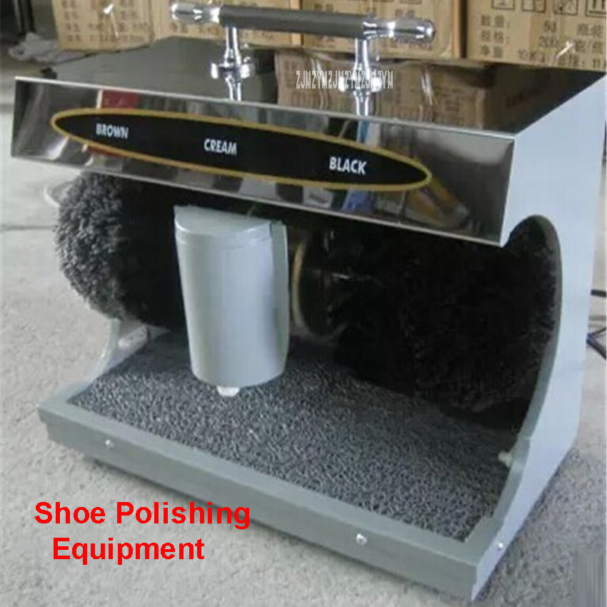 220V / 50Hz Shoe family shoe polishing machine shoe brush life electric induction  Automatic Shoe Shine Machine 45W tp760 765 hz d7 0 1221a