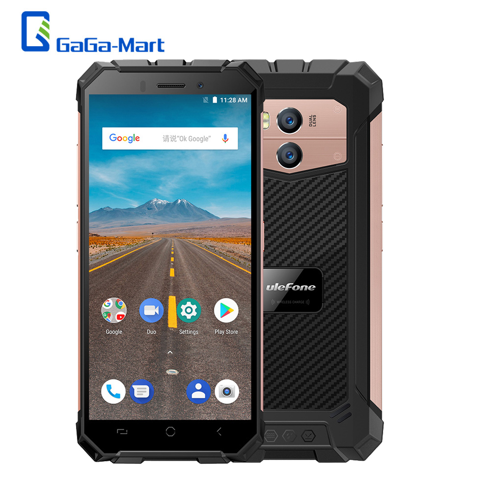 Ulefone Armor X Rugged Phone 4G Mobile Phone IP68 Waterproof 5500mAh 5 5Inch HD Quad Core