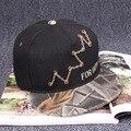 Boné de beisebol da viseira 2016 nova verão além de baseball hop equipe Raiders chapéu sombrero casquette gorra casais de dança de rua ao ar livre