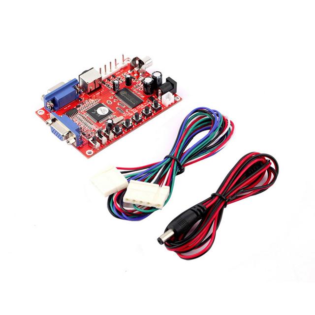 CVBS S-VIDEO CONVERTER PC para VGA GBS-8100 VGA PARA A CGA conversor de vídeo game