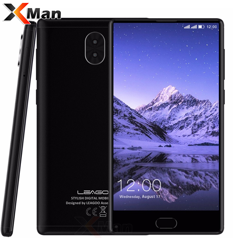 "LEAGOO KIICAA MIX 3GB RAM 32GB 5.5"" Full Screen Smartphone Android7.0 MTK6750T Octa Core Dual Back Cameras Fingerprint 4G Phone"