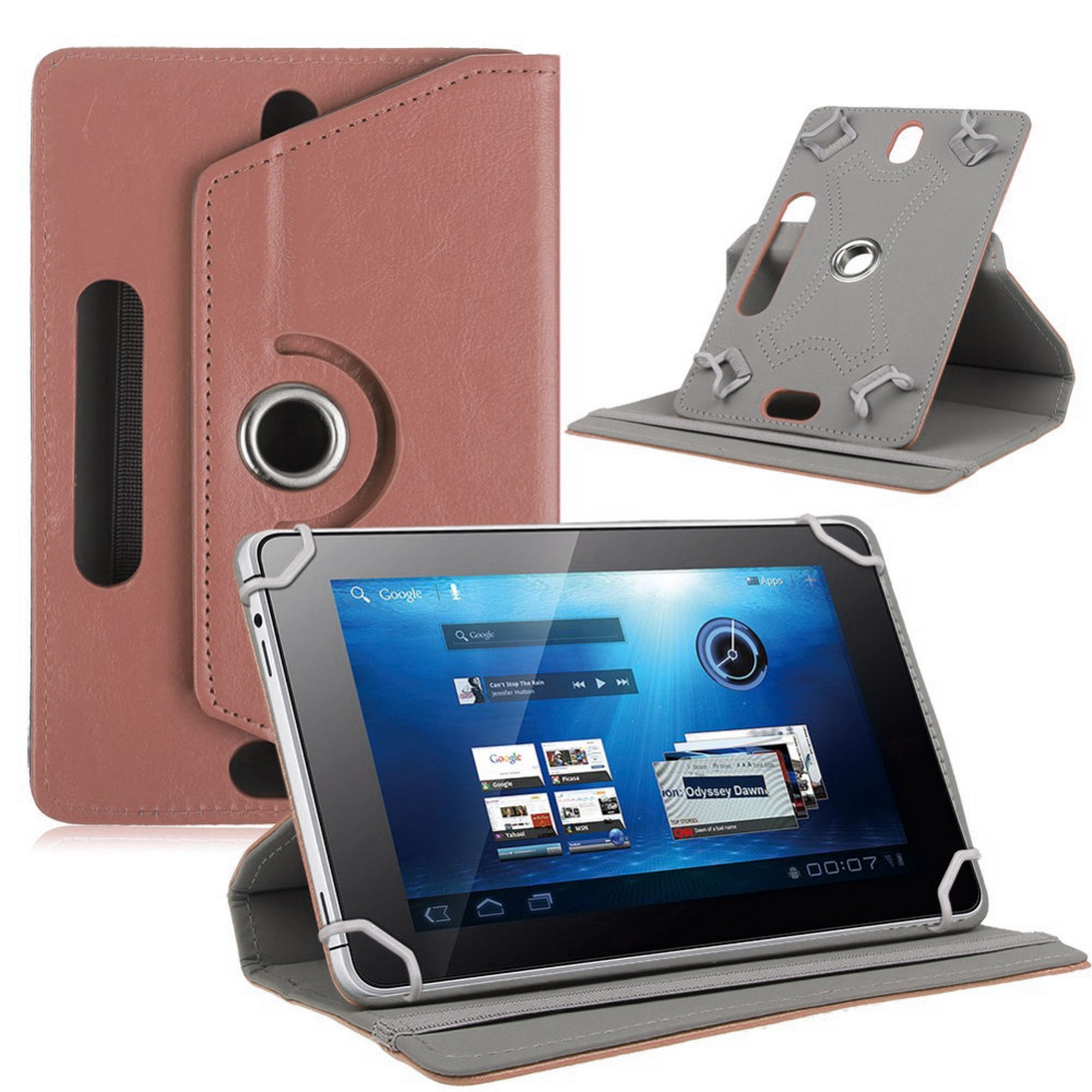 Myslc 360 Degree Rotating Cover for BQ-7010G Max 7 Inch Tablet PU Leather Protective Case