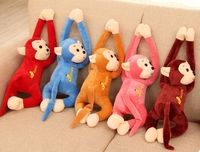 lovely plush banana monkey toy cute stuffed lying monkey doll gift about 60cm