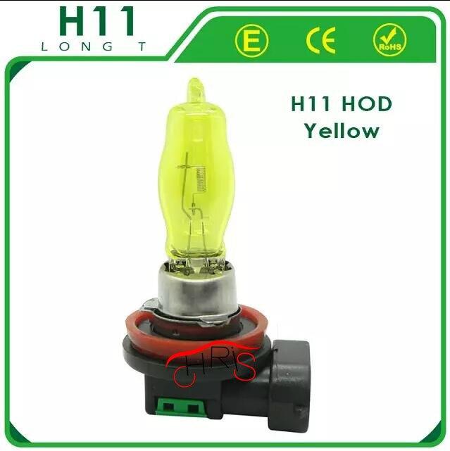 купить 2 x 12V 3000K 100W car styling Golden Yellow Auto Car HOD H11 Halogen Bulbs Lamps Headlight Fog Light Bulbs недорого