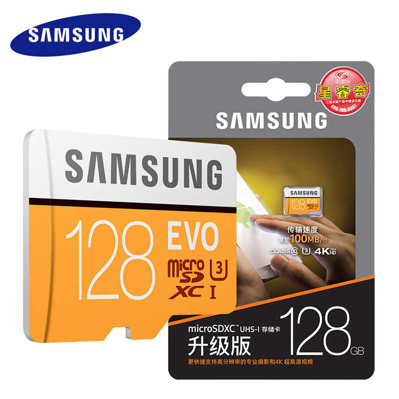 Genuine Samsung Evo Micro Sd Card 32gb 128gb 64gb Class 10 Memory Card Sdhc Sdxc Tf Card Microsd Up To 95mbs Cartao De Memoria