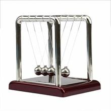 Newton's Balance Ball Steel Cradle Physics Science Pendulum Fun Desk Toy Gift