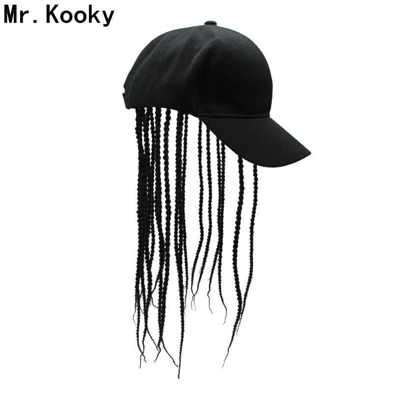 Mr.Kooky Unisex Wig Hair Dreadlocks Cap Novelty Party Hats Birthday Cool Hippie Gifts Funny Costume Gag Halloween Hip Hop Gorro