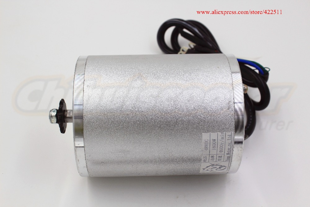 Image 3 - New 1800W 48V Brushless DC Motor Electric Scooter BLDC Motor 1800W 48V Electric Motor ( Electric Scooter Spare Parts)-in Scooter Parts & Accessories from Sports & Entertainment