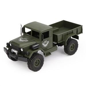 Image 2 - JJRC Q62 1:16 4wd rc auto militär karte klettern auto off road fahrzeug simulation militär modell klettern off  straße fahrzeug