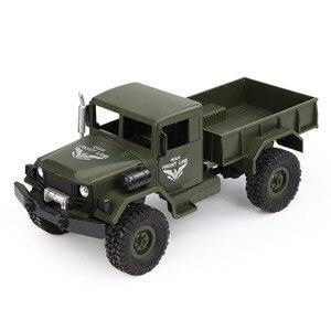 Image 2 - JJRC Q62 1:16 4wd rc voiture militaire carte escalade voiture tout terrain véhicule simulation modèle militaire escalade véhicule tout terrain