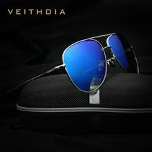 VEITHDIA Brand Fashion Men's Sunglasses Polarized Color Mirror Lens Eyewear Accessories Driving Sun Glasses For Men/women 3610