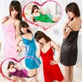 Лето женщины \ сексуальное платье с v-образным белье нижнее белье пижамы G - строка топ