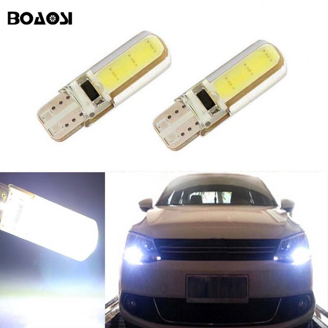 boaosi voor mitsubishi kia opel renault megane laguna koleos t10 w5w canbus led parking verlichting marker