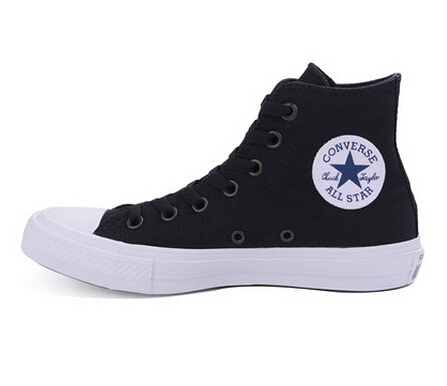 NEW Converse Chuck Taylor All Star II High men women s sneakers canvas shoes  Classic pure color Skateboarding Shoes 150143C 874cf0100773