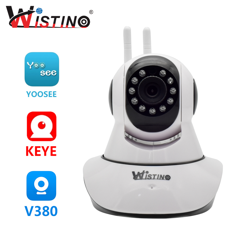 Wistino Mini Camera Night Vision HD 1080P Home Security IP Camera Home Wireless Baby Monitor Email Alarm Night Vision CCTV P2P arcra 16ch 2 0m hd multi language email alarm ip66 waterproof night vision poe fixed lens outdoor home security system