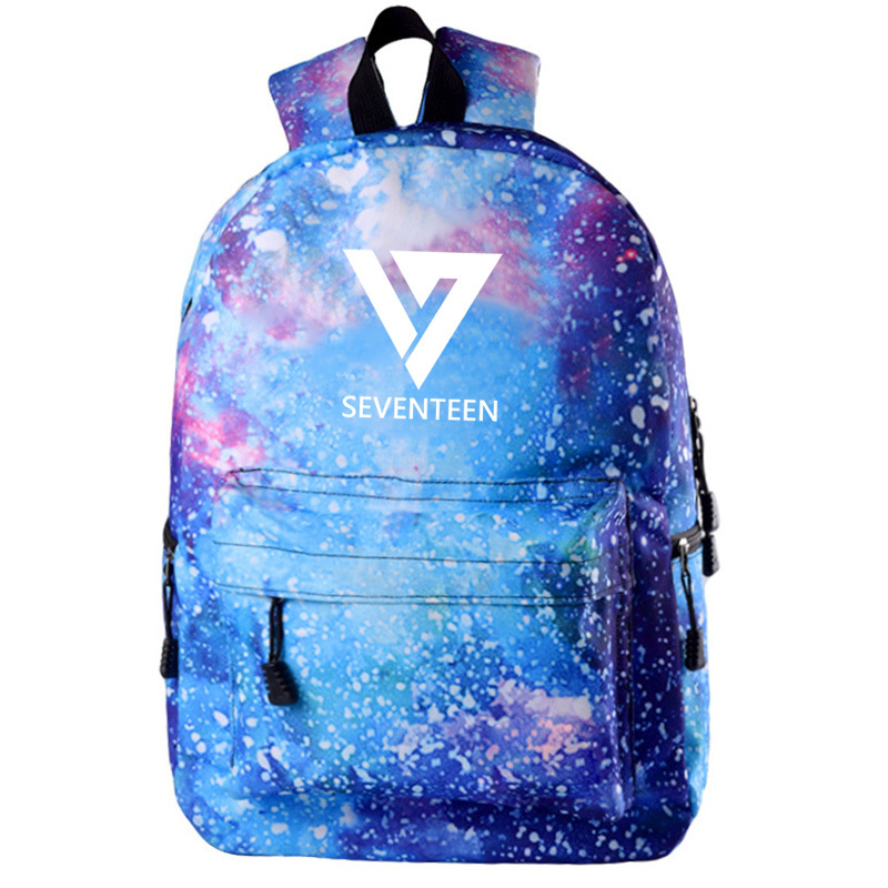 Creative Got7 Mochila Bts Kids Shoulder Bag Seventeen Backpack For Ladies Notebook Bag Teenager Girls Vrouwen Rugzak Travel Bagpack Women Backpacks