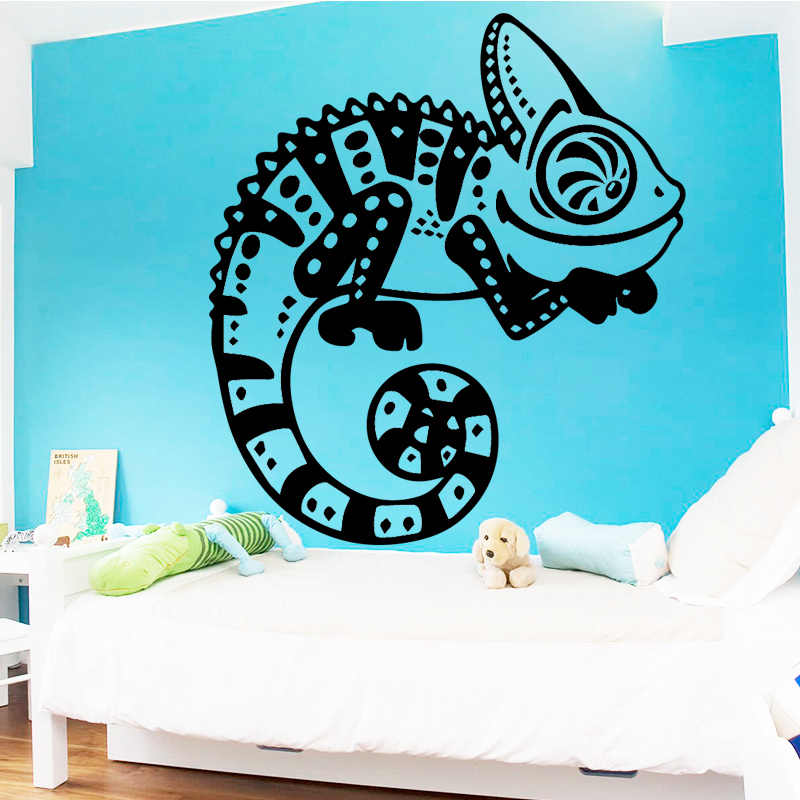 Cocoplay Amusing Chameleon Wall Stickers Animal Lover Home