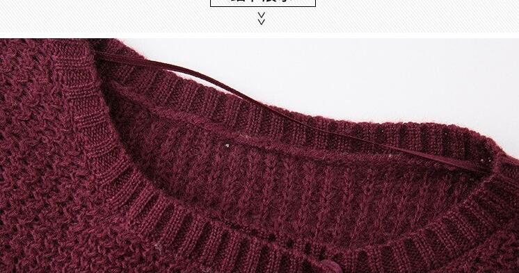 2018 Autumn New Fashion Women Long Sweater Cardigans Button Sweaters Long Sleeve Open Stitch Casual Knitted Cardigans Sueter
