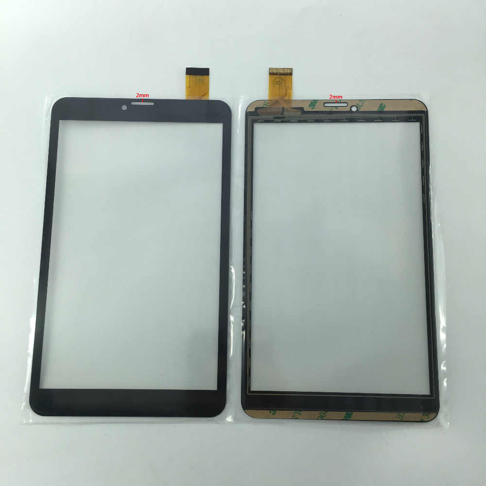 цена на 8 INCH ZJ-80038A Tablet PC capacitive Touch screen Digitizer glass External screen Sensor ZJ 80038A 205*120mm