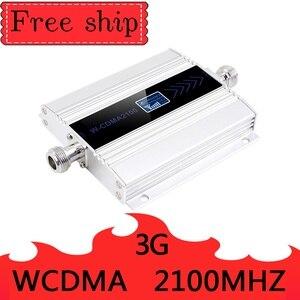 Image 2 - 3G Ripetitore 2100MHz LCD WCDMA 2100 MHZ Celular Signal Booster Amplificador Repetidor Celular Amplificador Chicote Antena de 5dbi