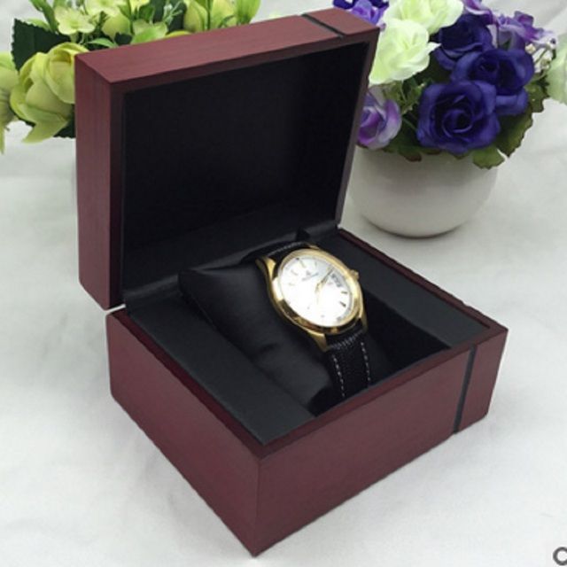 Decorative Display Boxes Custom 2017 Brand Solid Wood Box Cross Grain Jewelry Watch Display Inspiration Design