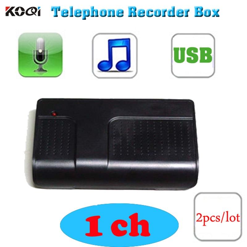 Hot PC Computer 1 CH USB Telephone Phone Audio Voice Recorder Telephone Recorder