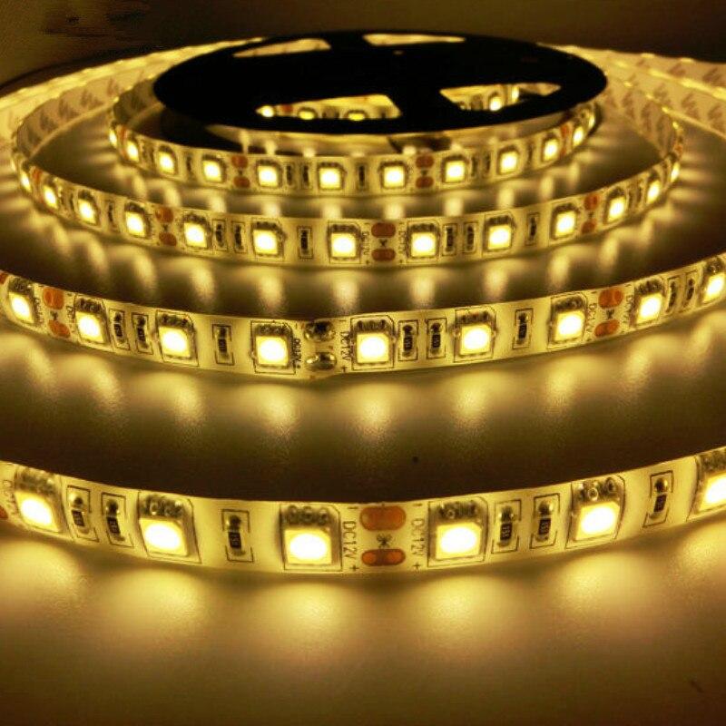 5050SMD Led Zolaqlı Lampa 5m / çox 60led / m DC12V IP65 Çevik - LED işıqlandırma - Fotoqrafiya 4