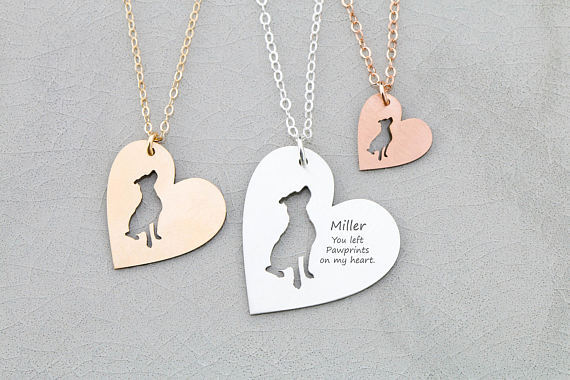 Handmade Custom Jewelry Any Personalized Name Necklaces Women Lovely Pets Dog Cat Rabbit Horse Silver Gold Rose Choker Necklace