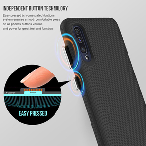 Image 3 - TOIKO X Guard Dual Layer Armor Cases for Samsung Galaxy A10 A20 A30 A50 A70 A80 Shockproof Back Cover Hybrid PC TPU Bumper Shell