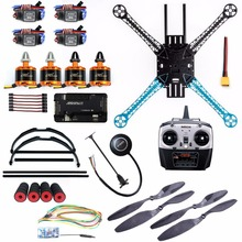 DIY Kit 2.4Ghz 500mm RC Quadcopter 4CH Brushless Drone with M7N GPS APM2.8 No Compass Radiolink Transmitter with Receiver