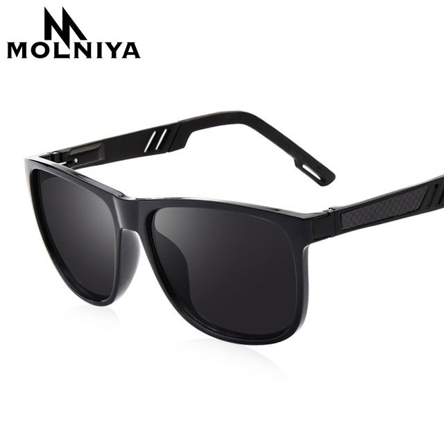 ab5f531fffe Classic Men Polarized Sunglasses Vintage Brand Design Polaroid HD Lens Sun  Glasses Male Square Driving Goggles