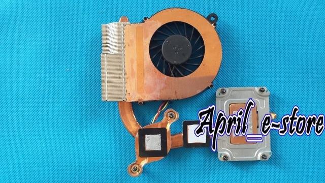 NOVO para HP G62 CQ62 G6 G6-1A G6-1B G6-1C G6-1000 series cpu laptop cooling fan & dissipador de calor P/N 640897-001