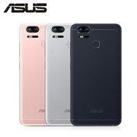 ASUS ZenFone 3 Zoom ZE553KL 4G LTE мобильный телефон 5000 мАч батарея 4 Гб 128 ГБ 3 камеры 12MP 5,5 экран 1080x1920 p Android смартфон