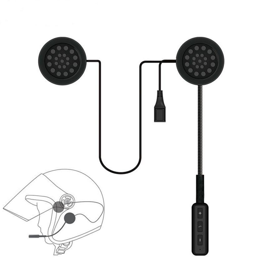 Motorrad Helm Sprech Intercom Bluetooth 4,1 Headset Wireless für Musik