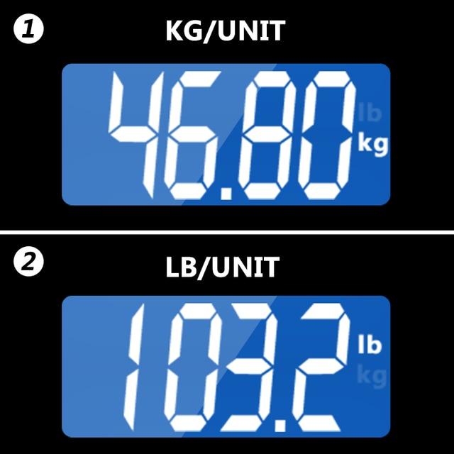 GASON A2 Bathroom Floor Body Scale Glass Smart Household Electronic Digital Weight Balance Bariatric LCD Display 180KG/50G 5