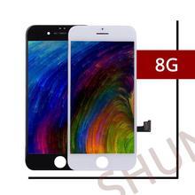 Ограниченное предложение 1 шт. Класс AAA высокое Экран ЖК-дисплей для Apple iPhone 8 ЖК-дисплей Замена объектива в сборе с Сенсорный экран планшета