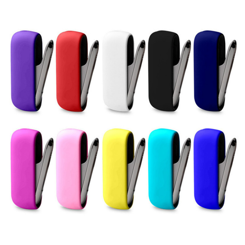9 Color Available Soft Silicone Cover For IQOS 3.0 Multi Cover Case