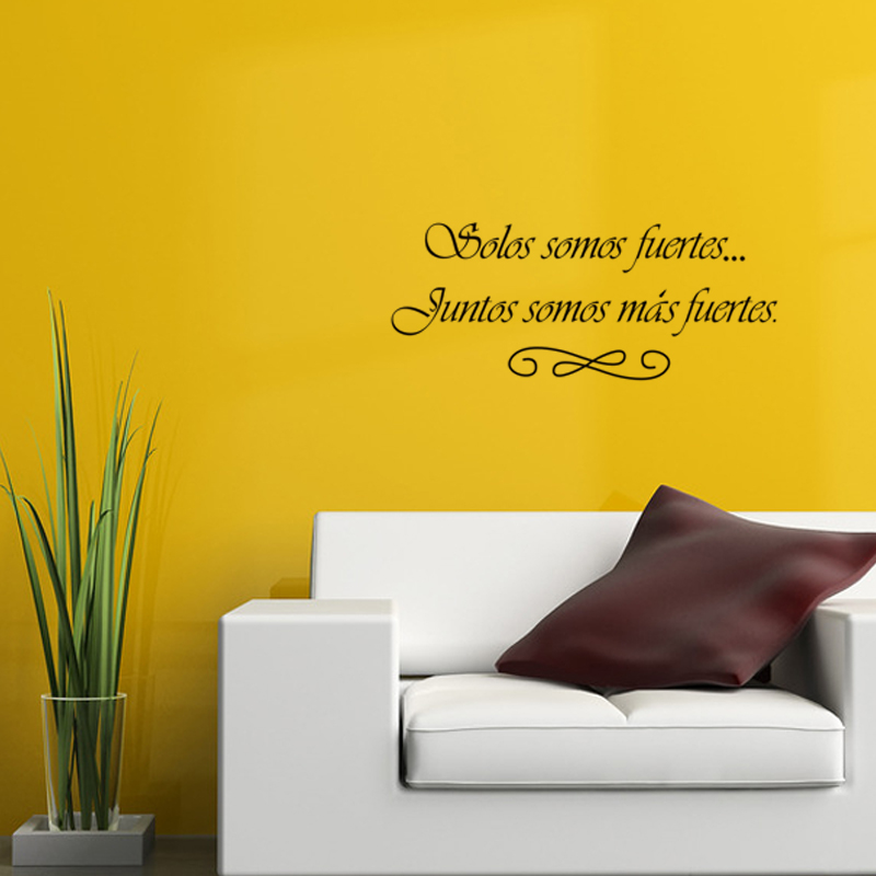 Dctop Hot Sale Removable Vinyl Art Wall Decal Waterproof Fashion Home Decor Spanish Wall Sticker