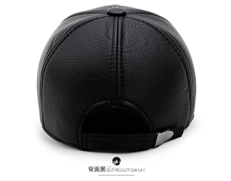 Hat men's autumn and winter new warm flat-top hat outdoor leisure sports new post woven lable of men and women cold hat money lady knitting hat qiu dong the day han2 ban3 warm pointed