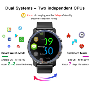 """Image 3 - KOSPET Optimus Pro 3GB 32GB Smart Watch GPS For Men WIFI Heart Rate Monitor 1.39"""" Camera Dual System 4G Smartwatch Android Phone"""