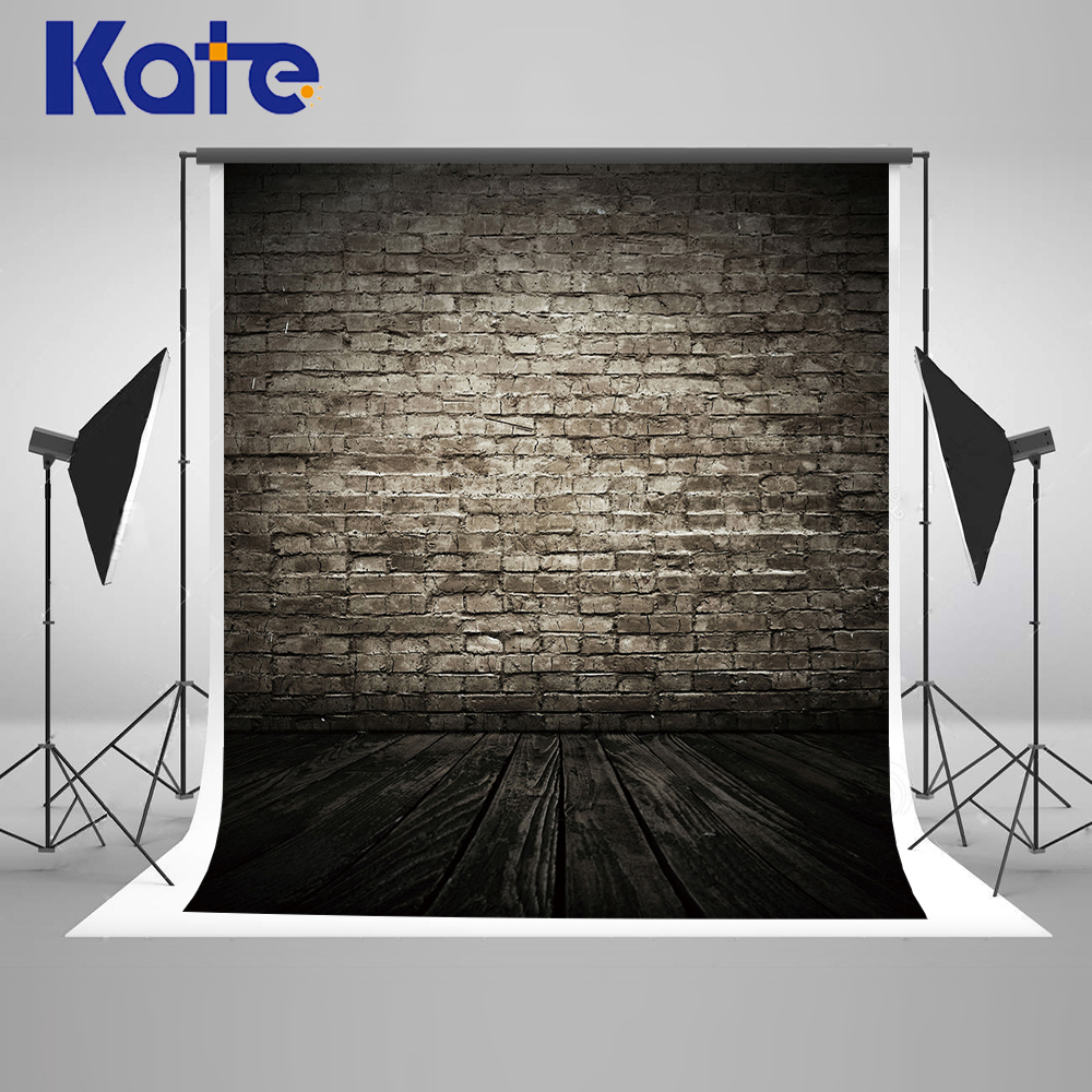 Medium Of Black Brick Wall