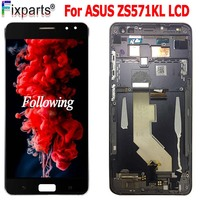 For 5.7 Asus Zenfone ZS571KL LCD Display Touch Screen Digitizer Assembly ZS571KL With Frame Replacement For ASUS Zenfone AR LCD